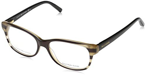 Tommy Hilfiger TH 1017 Tommy Hilfiger brilmontuur TH 1017 Wayfarer brilmontuur 52, bruin