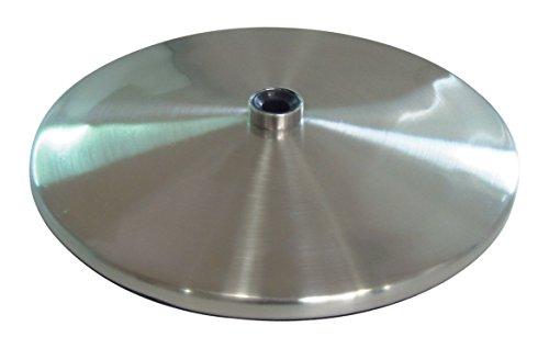 La lumière du jour Company Slimline Base de table, EN ACIER brossé