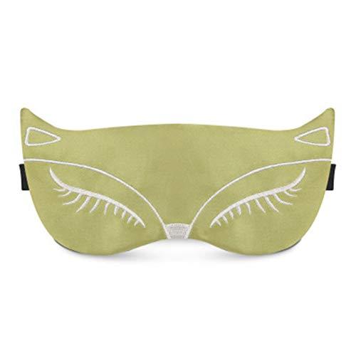 XGPGMHT Masque Yeux Matériau: Coton Taille: 18.2 * 10 Cm Type: Masque Pour Le Sommeil Et Le Ronflement Sac À Glace: Aucun Sac À Glace Matière: Soie
