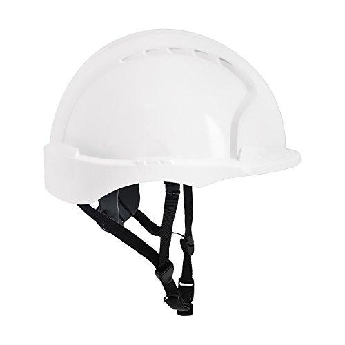 JSP KAS-EVO3LINES - Casco de seguridad (polietileno de alta densidad) Blanco Talla única ⭐