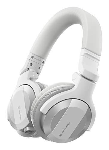 Pioneer DJ HDJ-CUE1BT-W, DJ Cuffie con Bluetooth, Bianco