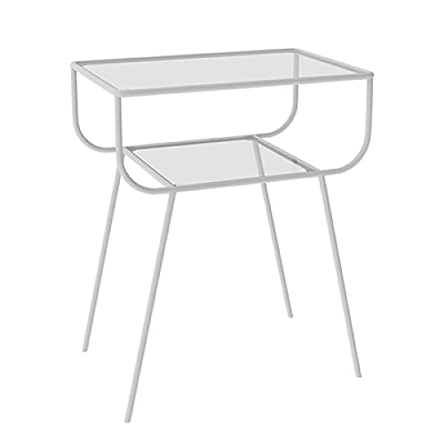 Comodino decorativo Comodini Mobili camera da letto moderna Tavolino in ferro Nordicsofa Armadio portaoggetti ad angolo Tavolino Comodino bianco