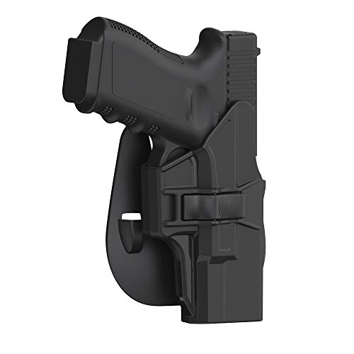 Glock 19 Holster, OWB Paddle Holster for...