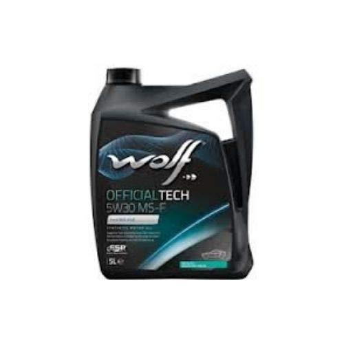 Bidón de 5 litros de aceite 5W30 Wolf 8308819 motor