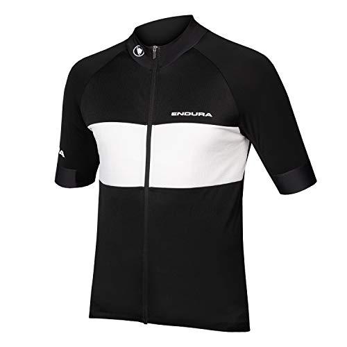 Endura Herren FS260-Pro kurzärmliges Fahrradtrikot II, schwarz, Größe M