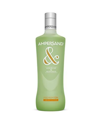 Ginebra premium Ampersand Ginebra sabor Melón 37.5º 70 cl
