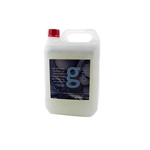 Tecnovita by BH Gel de ultrasonidos YSG05. Gel para cavitación de 5 litros