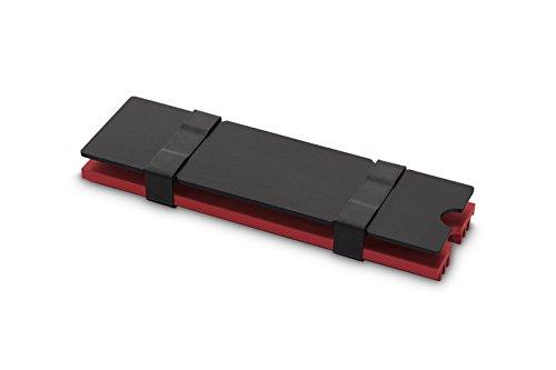 EK Water Blocks 3830046991751 Computer Kühlkomponente Solid-State Drive Kühlkörper - Computer Kühlkomponenten (Solid-State Drive, Kühlkörper, Rot)