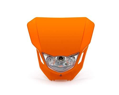 Motorfiets Koplamp - Supermoto & Streetfighter - Oranje - 12V 35W