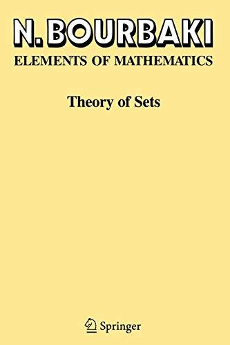 Theory of Sets (Ettore Majorana International Science)