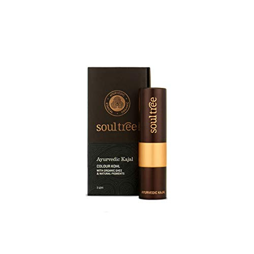 SoulTree Ayurvedic Kajal, 009 Copper Tint Colour, 3g