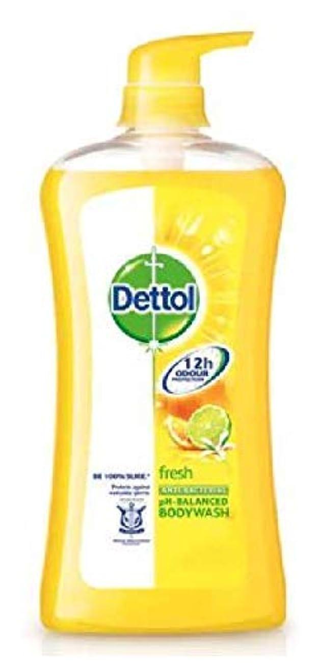 トランクライブラリ無傷株式会社Dettol フレッシュシャワージェル950mlの、毎日の細菌を防ぐために、 - リフレッシュシトラス - 100%ソープフリー - 平衡のpH値