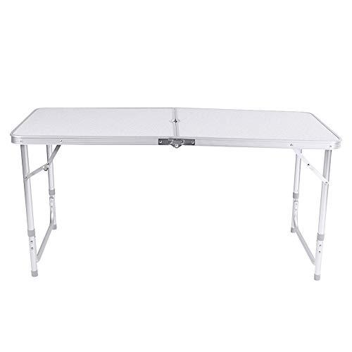 Nowy 4ft składany stół koziołek Camping Party piknik grill stragan Graden kryty przenośne biurko komputerowe