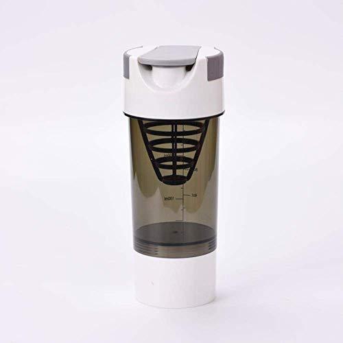 ZLYMY CUS Shaker Pro 40 Whey Protein Nutrición Deportiva licuadora Mezclador Botella Gimnasio Gimnasio Shaker For Protein Powder mi Botella de Agua 700 ml Nuevo, 700ML