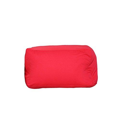 Fauteuils inclinables Fauteuils et Chaises Tatami Paresseux canapé Haricot Unique créatif décontracté canapé Doux Chaise personnalité Tatami selles (Color : Red)