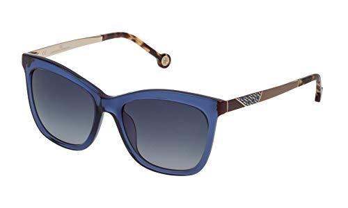 Carolina Herrera SHE746530955 Gafas de Sol, Azul, 53 para Mujer