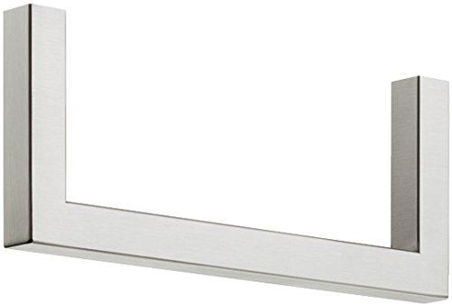 Wandgarderobe roestvrij staal H7005 Bügel für Fachboden Roestvrij staal mat geborsteld