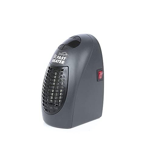 SZHWLKJ Calentador rápido, for la Cubierta de Aire Caliente del Ventilador eléctrico de tamaño Mini for el Recorrido, Oficina, hogar