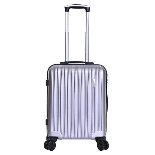 Karabar Hard Cabin Hand Luggage Bag 55 cm 2.5 kg 35 litres 4 wheels, Monaco...