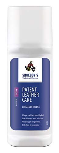 Shoeboy's Patent Leather Care - sprühnebelfreie Lackleder Pflege, 1er Pack (1 x 75 ml)