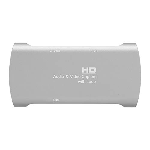 Sojare Tarjeta de adquisición de Audio y Video 4K 1080P, Interfaz Multimedia HD a Salida USB2.0 / YUV/JPEG, Tarjetas de Captura de Video Que admiten grabación de Video Transmisión en Vivo