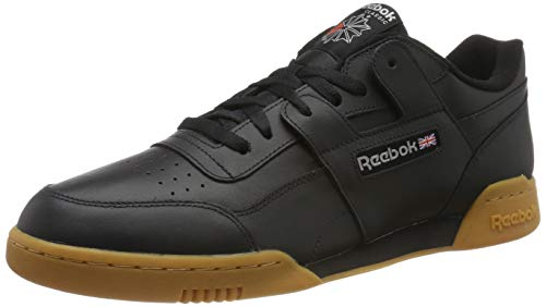 Reebok Men's Workout Plus Black/Carbon/Red/Royal Multisport Training Shoes-10 UK/India (44.5 EU) (11 US) (CN2127)