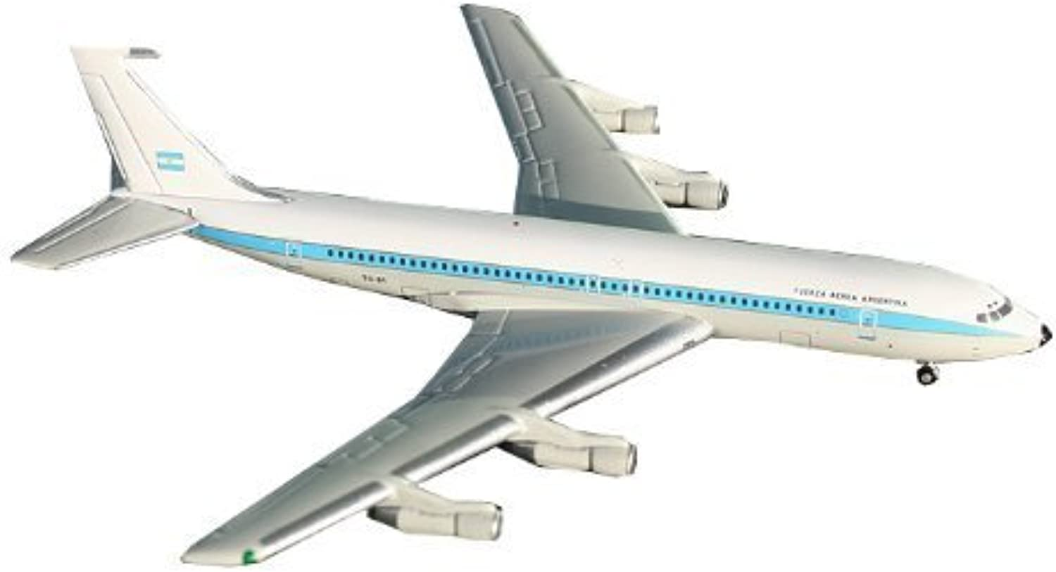 Gemini Jets B707-320B C Silberina Air Force Diecast Vehicle, Scale 1 1400 by ADI GeminiJets