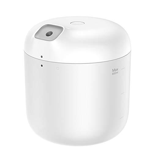Hbao Humidificador de humidificador de Aire Purificación for la Oficina en el hogar 600 ml Humidificador de Aire de Gran Capacidad de 600 ml