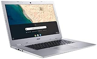"""Acer Chromebook 315 15.6"""" Touchscreen Laptop Computer, for Business Education,AMD A4-9120C 1.6GHz(up to 2.4GHz), 4GB RAM, 64GB eMMC, 10 Hours Battery, WiFi, Chrome OS, Silver, iPuzzle Accessories"""