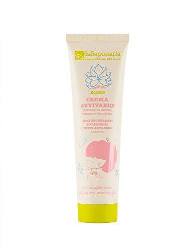 Crema Ravviva Ricci La Saponaria 150 ml per capelli mossi e o ricci trattamento leave-in modellante