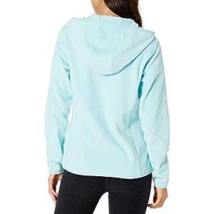Amazon Essentials Women's Long-Sleeve Hooded Full-Zip Polar Fleece Jacket