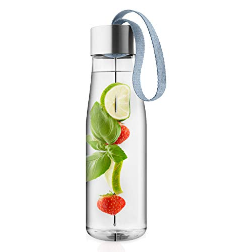 EVA SOLO – My Flavour Trinkflasche | skandinavisches Design | 0,5 Liter| BPA-freier Kunststoff | spülmaschinenfest | 100% dicht | mit Trageschlaufe - Steel Blue