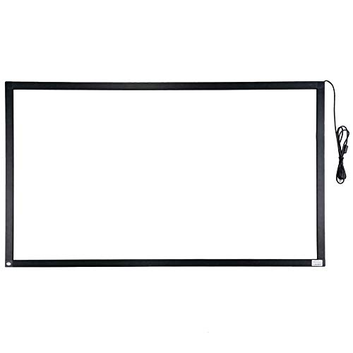 55 Zoll 10-Punkt-Multi-Touch-Infrarot-Touch-Frame, IR-Touch-Panel 16: 9-Infrarot-Touch-Screen-Overlay
