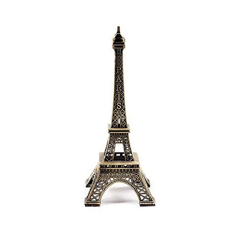 Nubstoer - Figura Decorativa de Torre Eiffel de París, Metal Creativo