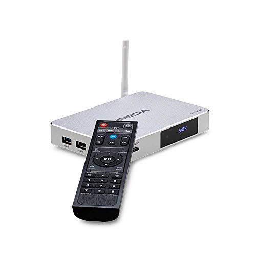 HIMEDIA™ Q5PRO 4K (Ultra-HD) HDR TV Box & 3D Android Mini-PC inklusive Airmouse