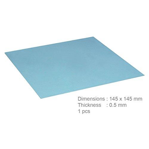 ARCTIC Thermal Pad (145 x 145 x 0,5 mm) - Exzellente Wärmeleitung durch Silikon und speziellen Füller, geringe Härte, idealer Gap-Filler, sehr einfache Installation, sichere Handhabung - Blau