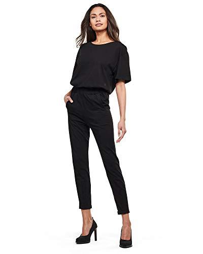 G-STAR RAW Womens Bohdana Loose Jumpsuit, dk Black B771-6484, Medium