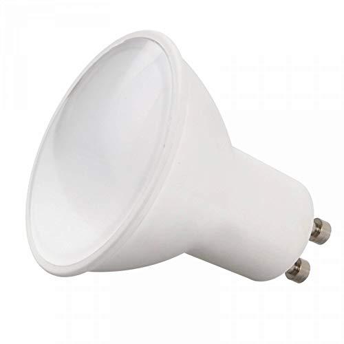 Lampada a LED GU10 1,2 watt bianco caldo - lampadina con vetro frontale smerigliato 230V - lampadina