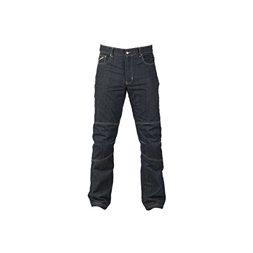 Furygan D02 Motorradhose, Jeans, Kevlar Gr. 44, blau