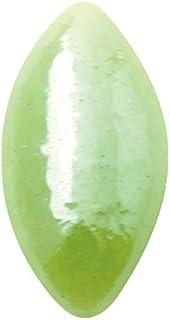 グラスパールリーフ 3x6mm(各30個) グリーン