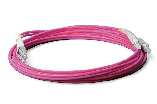 Cable de fibra óptica LWL, 15 m, OM4 LC/UPC a SC/UPC macho,...