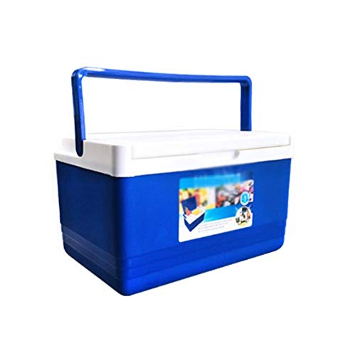 Eiswürfelkühler Outdoor-Isolationsbox, Leichte tragbare wasserdichte Auto-Kühlbox Ice Organizer, ideal für die Medizinkonservierung Home Barbecue Angeln Camping Jagd