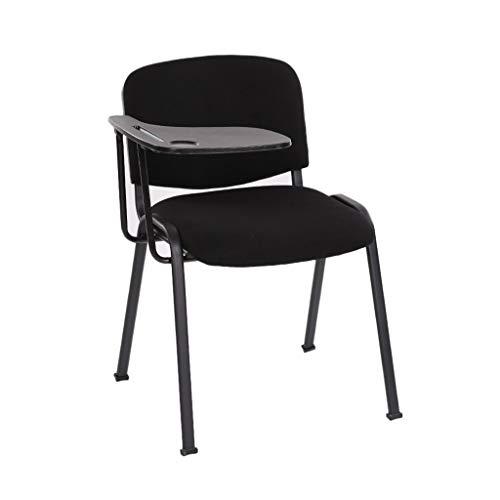 AOYANQI-Schreibtischstühle Büro stapelbare Rezeption Stuhl, Tagungsraum Ausbildung Stuhl Massiv Durable Studenten Schreibtisch Stühle Tablet PC Kann Personal Stuhl platziert werden Büromöbel
