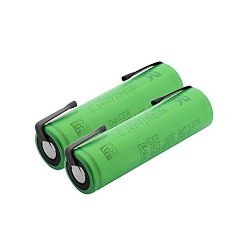 CNMMGL 3.6v Vtc4 2100mah 18650 Batería De Litio, BateríAs Recargables De Alto Drenaje 30a con LengüEtas De níQuel para Linterna 10Pieces