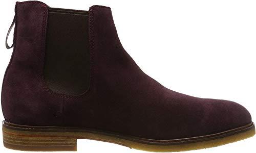 Clarks Herren Clarkdale Gobi Chelsea Boots, Braun (Burgundy Suede Burgundy Suede), 39.5 EU