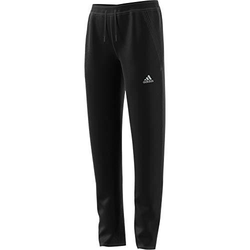 adidas G A.R. W Pant Sport Trousers, Niñas, Black/Matte Silver, 4-5Y