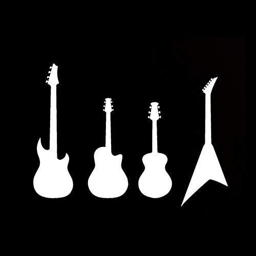 SCSHY Engomada del Coche 13,4 Cm * 9,8 Cm Jugador De Guitarras...
