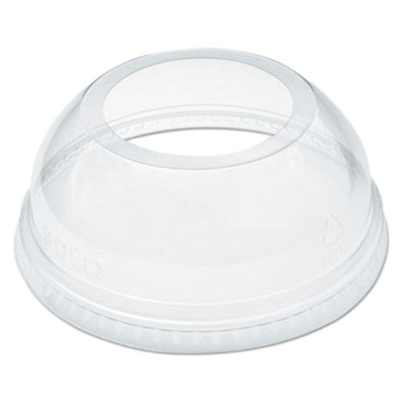 柱使用法悲劇Dart DCCDLW626 9-20 oz Lids for Plastic Cups, Clear