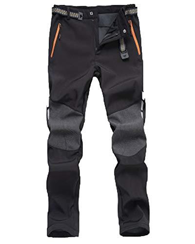 Ski Decathlon Trekking Baratos Hombre Decathlon Montaña Pantalones De Jogging A Prueba De Viento E Impermeable Negro M
