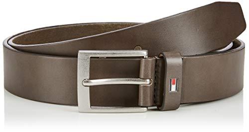 Tommy Hilfiger Adan Leather 3.5 Cintura, (Green Lfh), 10 (Taglia Produttore: 110.0) Uomo